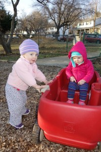 Toddler Friend Finder Wagon