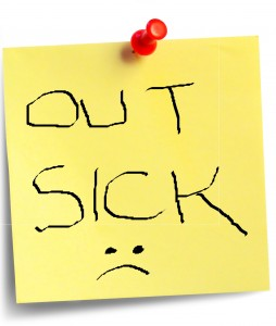 Out Sick :(