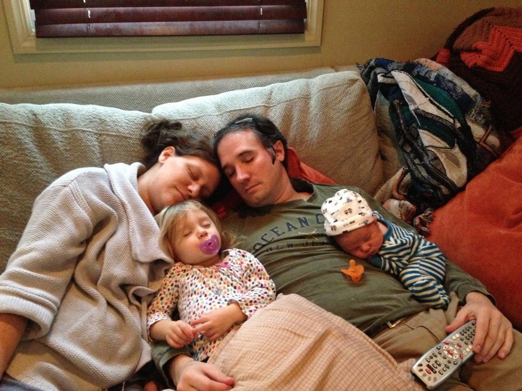One Healthy Sleeping Family