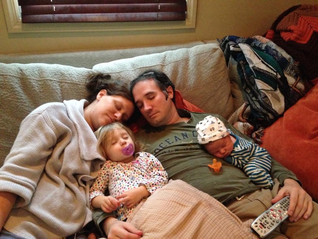 One Healthy Sleeping Family