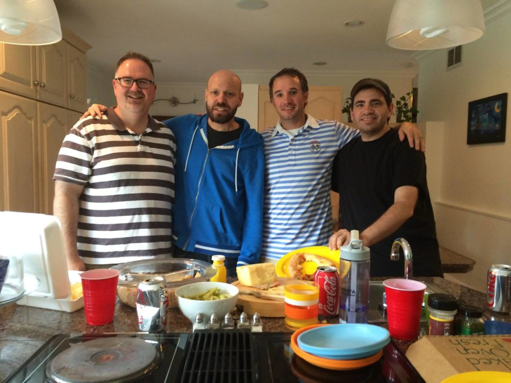 Four dad bloggers, just trying to change the world